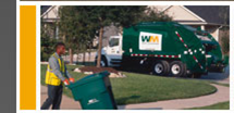 Garbage Truck and Worker